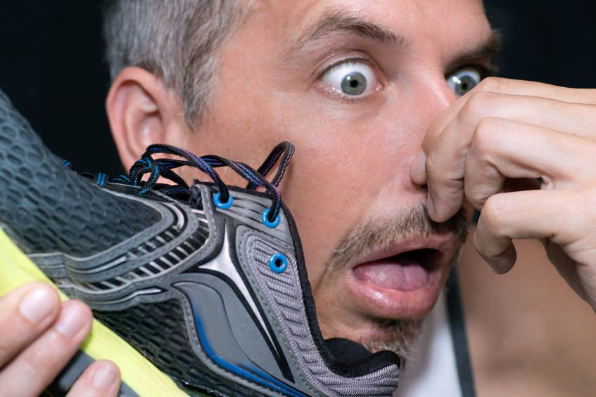 How to get smell out of your shoes