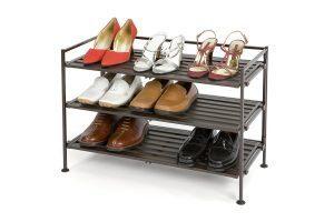free standing shoe rack