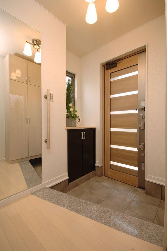 How to organize entryway by Konmari Way