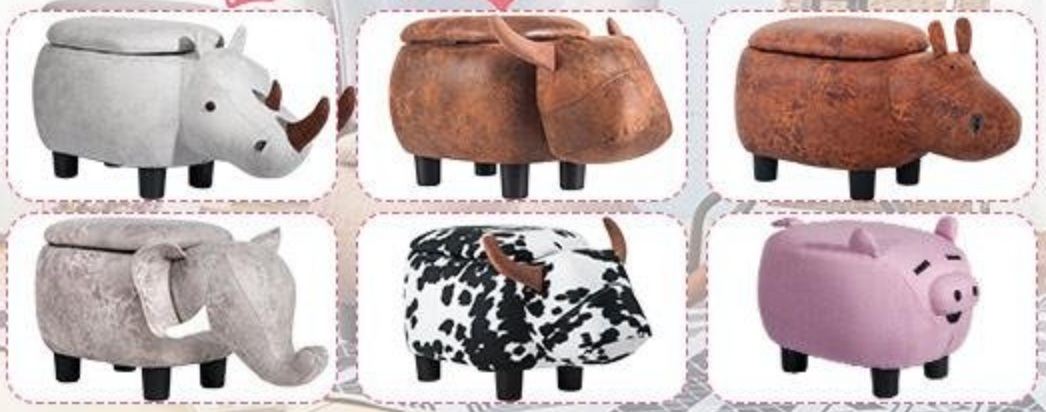 Cute Animal Themed Shoe Storage for kids!