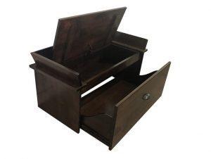 Shoe Storage Bench Rich Tobacco