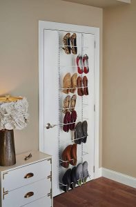 closetmaid wall shoe organizer