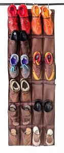Mirella's House LARGE SHOE ORGANIZER Door Shoe Rack, Sneaker Rack, Men's Shoe Organizer for Big Shoes