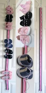 baby hanging shoe organizer etsy