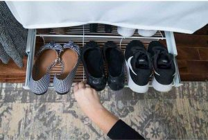 freedomrail shoe shelf