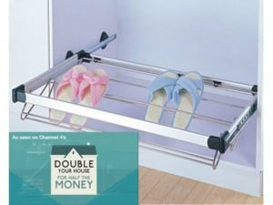 Pull Out Shoe Rack System (Hafele)