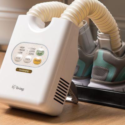 Best selling deodorizing ozone shoe dryer in Japan