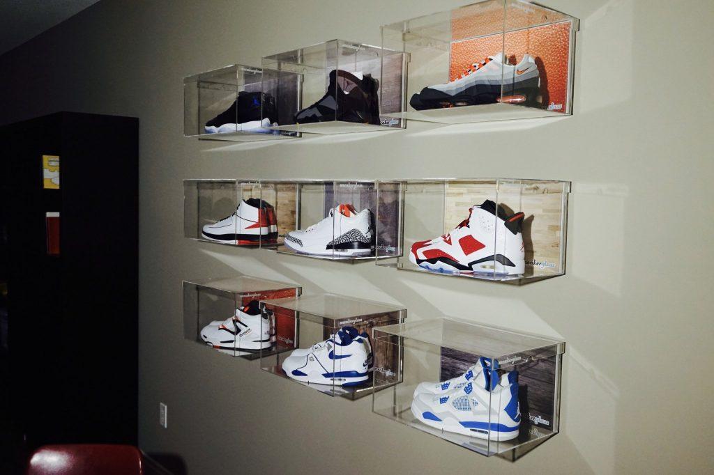 sneaker glass