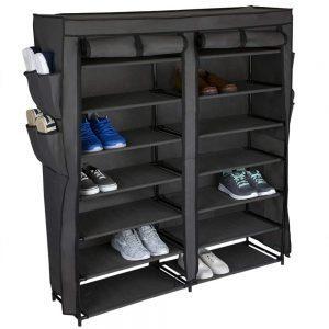 Home Basics Multipurpose Portable Wardrobe Storage Closet