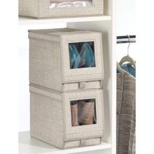 mDesign Fabric Medium Size box
