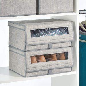 mDesign Fabric Storage