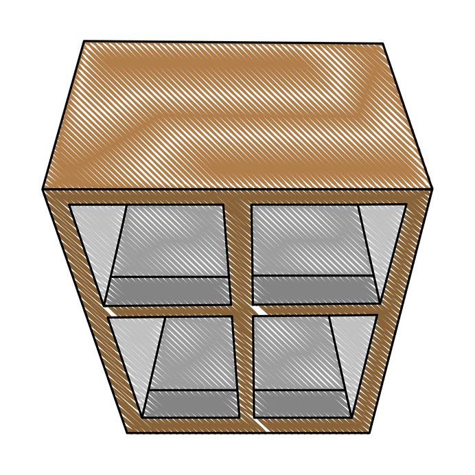 Shoe storage that you can see inside: with glass doors or mesh doors