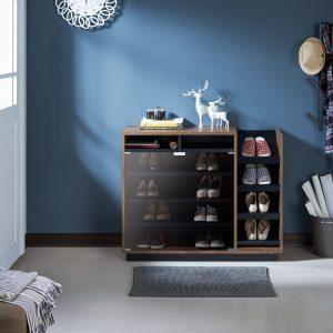 Contemporary shoe cabinet by Brayden Studio